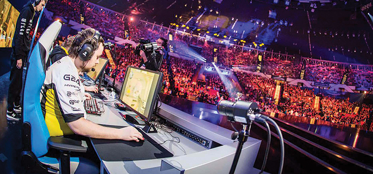 Betting within the world of eSports.