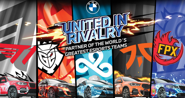 BMW combines five eSports organisations by rivalry.
