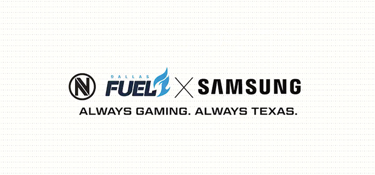 South Korean electronics company sponsor Team Envy and Dallas Fuel
