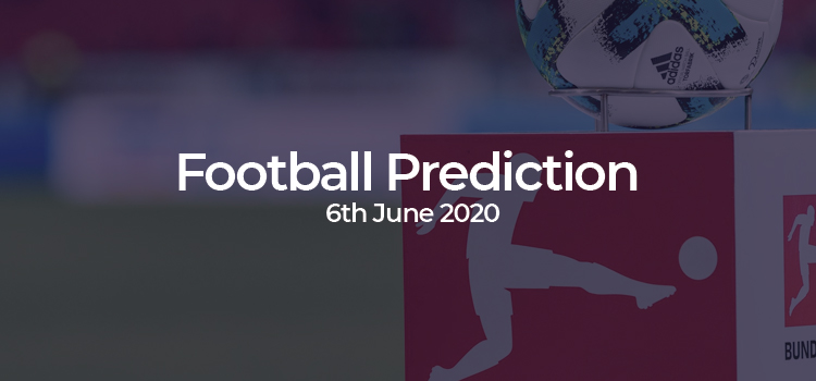 Bundesliga Match Predictions – 6th June 2020