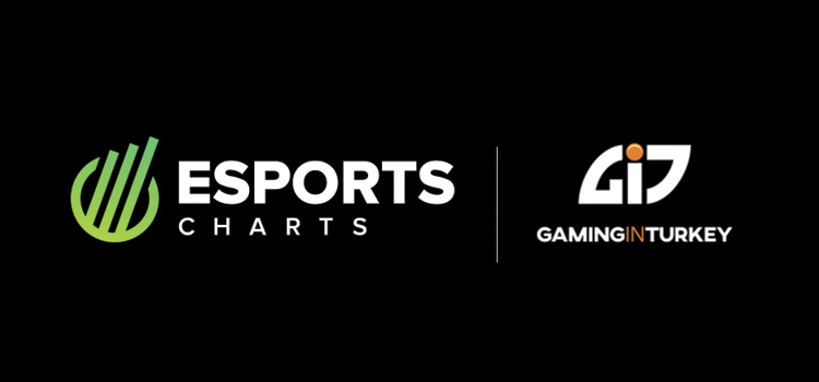 eSports Charts create partnership with Gaming in Turkey