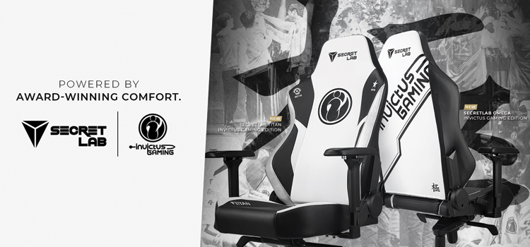 Invictus Gaming take a seat with Secretlab partnership