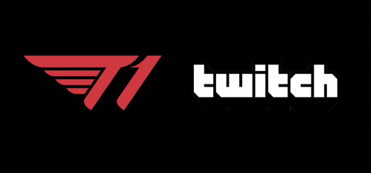 T1 secure streaming partnership with Twitch
