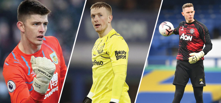 England: Will Pickford be No1 for long?