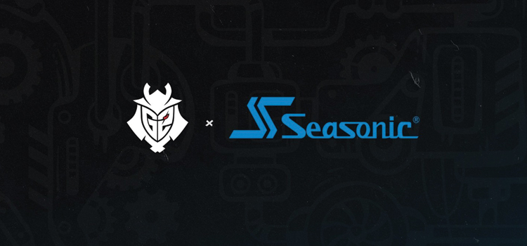 G2 Esports fully charged with Seasonic partnership