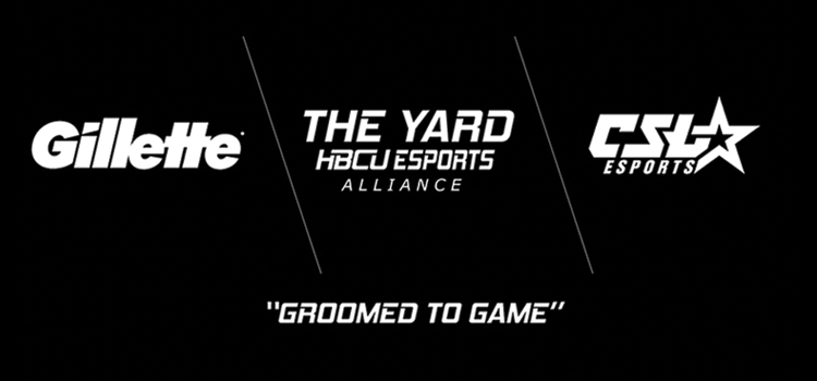 Gillette announce The Yard: HBCU Esports Alliance partnership