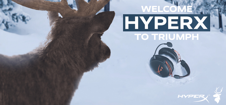 Triumph Esports gears up with HyperX partnership